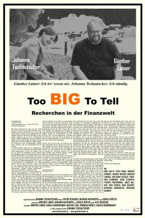 Plakat zum Film: Too BIG to tell